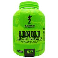 Arnold By Musclepharm Iron Mass, Vanilla Malt, 5 LBS