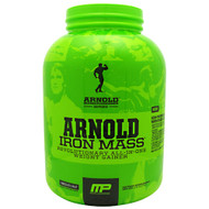Arnold By Musclepharm, Iron Mass, Chocolate Malt, 5 LBS
