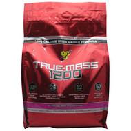 BSN True Mass 1200, Strawberry Milkshake, 10.25 lbs. (4.71 kg)