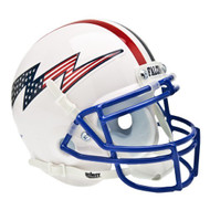Air Force Falcons Schutt Mini Helmet - White Alternate Helmet #3