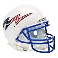 Air Force Falcons Schutt Mini Helmet - White Alternate Helmet #2