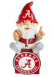 Alabama Crimson Tide Gnome On Team Logo