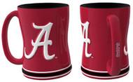 Alabama Crimson Tide Coffee Mug - 15oz Sculpted
