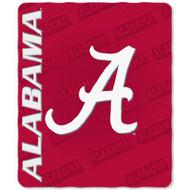 Alabama Crimson Tide 50x60 Fleece Blanket - Mark Design
