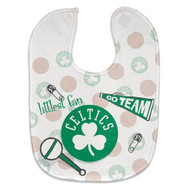 Boston Celtics Baby Bib - Full Color Mesh