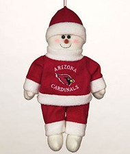 "Arizona Cardinals 10"" Snowflake Friends"
