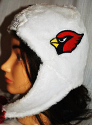 Arizona Cardinals Helmet Dangle Hat