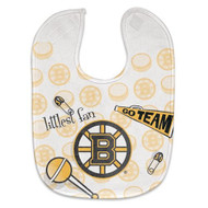 Boston Bruins Baby Bib - Full Color Mesh
