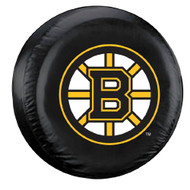 Boston Bruins Black Tire Cover - Standard Size