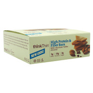 Think Products Think Thin Fiber, Milk Chocolate Toffee Almond, 10 - 60g bars