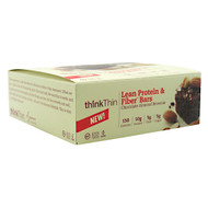 Think Products Think Thin Lean, Chocolate Almond Brownie, 10 - 40g bars