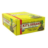 Clif Kit's Organic Fruit + Seed Bar, Lemon Vanilla + Chia Seeds, 12 - 1.7oz Bars