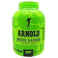Arnold By Musclepharm Iron Mass, Banana Cream, 5 LBS