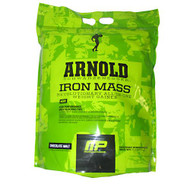 Arnold By Musclepharm Iron Mass, Chocolate Malt, 8 lbs (3.62kg)