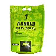 Arnold By Musclepharm Iron Mass, Vanilla Malt, 8 LBS