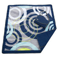 JJ Cole Outdoor Blanket, Blue Orbit