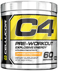 Cellucor C4 Orange Dreamsicle 60 Servings