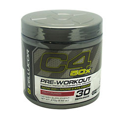 Cellucor G4 Chrome Series C4 50x Fruit Punch 30 Servings