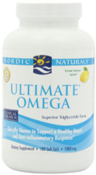 Nordic Naturals - Ultimate Omega, 1000 mg, 180 softgels