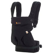ERGObaby Four Position 360 Baby Carrier, Pure Black