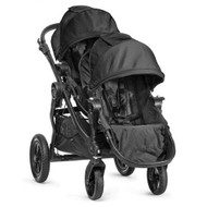 Baby Jogger City Select Black Frame Stroller w/ 2nd Seat, Black