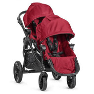 Baby Jogger 2014 City Select Stroller WITH Second Seat (Red)