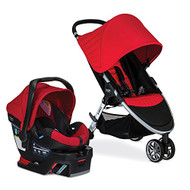 Britax 2016 B-Agile/B-Safe 35 Travel System, Red