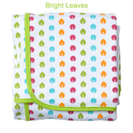 JJ Cole Receiving Blanket - Bright Leaves