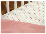 JJ Cole Fitted Crib Sheet Set - 2pk - Pink