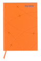 flydubai notebook - Orange