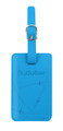 flydubai luggage tag - blue