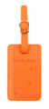 flydubai luggage tag - orange