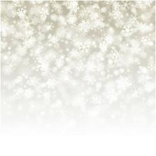 Falling snowflakes photography backdrop