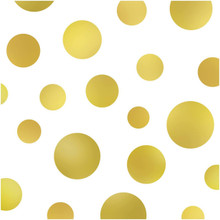 Large Gold Polka Dot photography backdrop