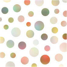 Large polka photography backdrop