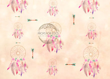 Dream catcher and arrows whimsical photographer backdrop
