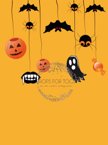 Halloween Photographers Backdrop