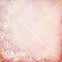 Pink Flower Corner 001