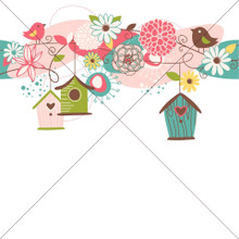 Bird House Design - Photography Backdrop