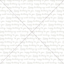Happy Birthday Print - Photography Backdrop