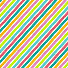 Colourful Diagonal Stripes Photography Backdrop