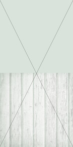 Pastel wood and solid colour Split Photography Backdrop