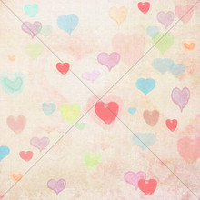 Heart photography backdrop design