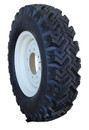 7.50-16 Deestone Traction 4 Tires & 4 Wheels