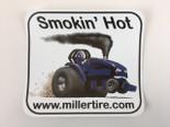Smokin' Hot Blue Decal