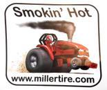 Smokin' Hot Red Decal