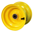 "6x4-1/2 Yellow Wheel with 3/4"" Bearings"
