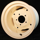 "12x 8.5-5 Hole Wheel 4"" Backside"