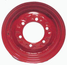 12x4 6-Hole Wheel Red