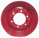 12x 4 6-Hole Wheel Red
